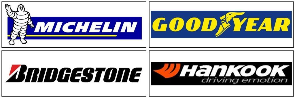 Tóthgumi Gumiszerviz márkák - Michelin, Goodyear, Bridgestone, Hankook