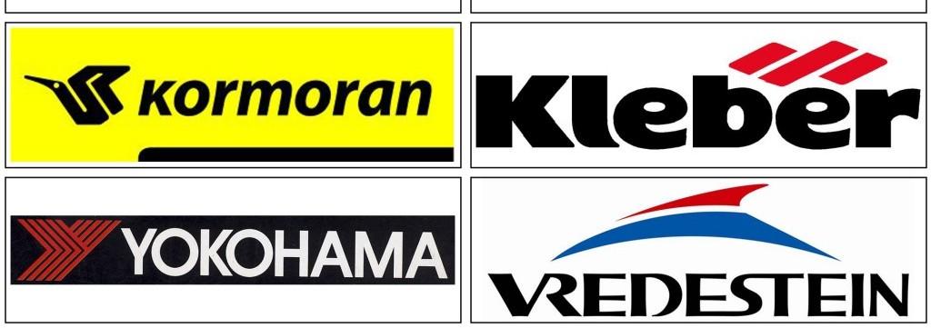 Tóthgumi Gumiszerviz márkák - Kormoran, Kleber, Yokohama, Vredestein