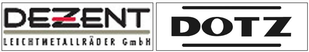 Tóthgumi alufelni márkák - Dezent, Dotz