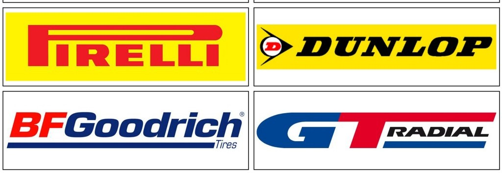Tóthgumi Gumiszerviz márkák - Pirelli, Dunlop, BF Goodrich, GT Radial